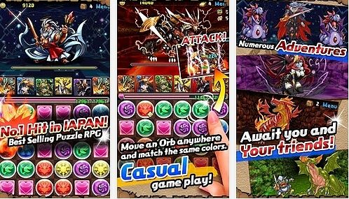 Puzzle and Dragons Android (16.0)