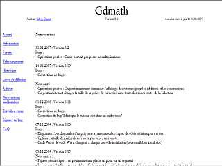 Gdmath