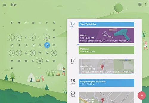Google Agenda iOS