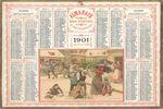 Pack de Calendriers Vintage (1901-2019)