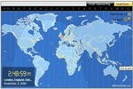 World Time Clock &  Map