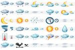 Large Weather Icons