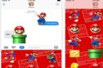 Super Mario Run Stickers iOS