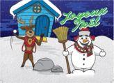Carte Joyeux Noël en téléchargement