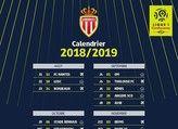 Calendrier AS Monaco Ligue 1 2018 - 2019 en téléchargement
