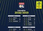 Calendrier OL Ligue 1 2018-2019  en téléchargement