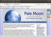 Pale Moon Linux en téléchargement