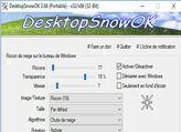 Desktop Snow OK en téléchargement