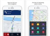 HERE WeGo iOS en téléchargement