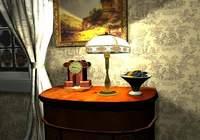 3D Grandfather Clock Screensaver