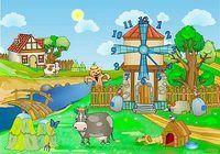 Farm Clock Screensaver