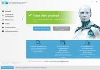 Logiciel gratuit ESET Internet Security 10 (ex Smart Security)