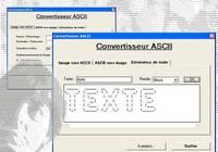 Convertisseur ASCII