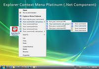 Explorer Context Menu Platinum (.Net Component)