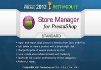 Store Manager pour Prestashop