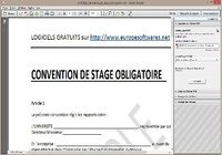 Modèle de Convention de Stage Obligatoire