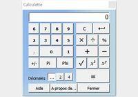 Calculatrice CalcCF