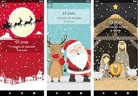 Compte à rebours de Noël Android