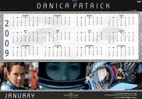 Danica Patrick 2009 Calendar for Macintosh