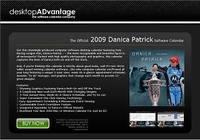 Danica Patrick 2009 Calendar for Windows