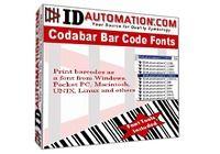 IDAutomation Codabar Font Advantage