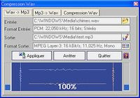 Compression wav et codecs