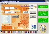 Convertisseur d'euros