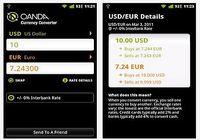 Convertisseur de devises Android