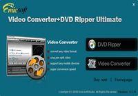 Emicsoft Convertisseur Vidéo + DVD Ripper Ultime