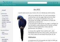 ARA Editeur RSS