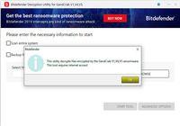 Bitdefender GrandCrab Decryption Tool