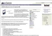 VISOCO dbExpress driver for Sybase ASE