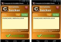 Scrabble Checker français Android