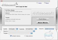 4Videosoft Copie DVD pour Mac