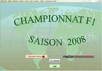 Championnat F1 2008