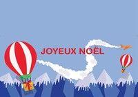 Carte de Noël format word