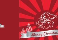 Carte de Noël 2017 au format Word