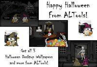 ALTools Haunted House Halloween Desktops