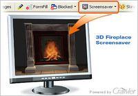 Crawler 3D Fireplace Screensaver