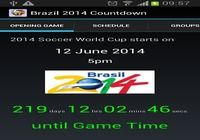 Brazil 2014 Countdown Android