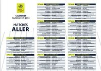 Calendrier officiel Ligue 1 2017-2018