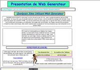 Web Generateur