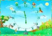 Seasonal Clocks Screensaver