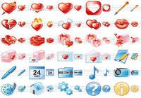 Delicious Love Icons
