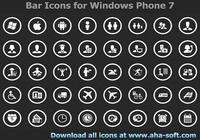Application Bar Icons for Windows Phone 7