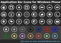 Application Bar Icons for Windows Phone