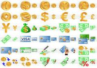 Money Toolbar Icons