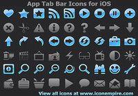 App Tab Bar Icons for iOS