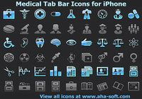 Medical Tab Bar Icons for iPhone