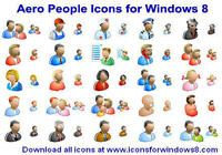 Aero People Icons for Windows 8